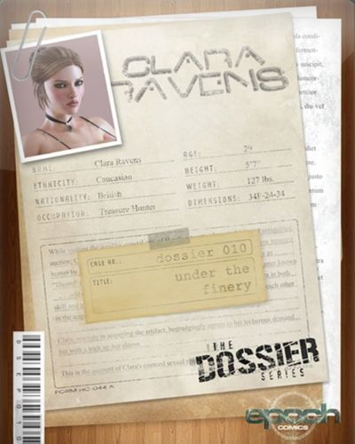 The Dossier 10- Epoch- Clara Ravens