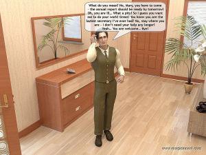 Dads new secretary