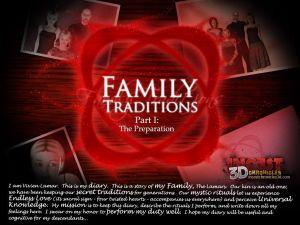 الأسرة التقاليد جزء 1- incestdchronicles