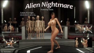 Erotic 3D Art (Blackadder)  Alien Nightmare
