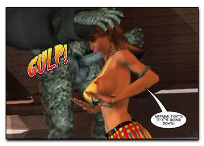 Mindy - Sex Slave On Mars c401-425 - part 10