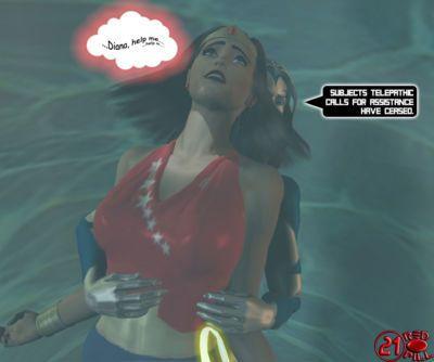 [Redpill333] Wonderwoman enslavement comic - part 2