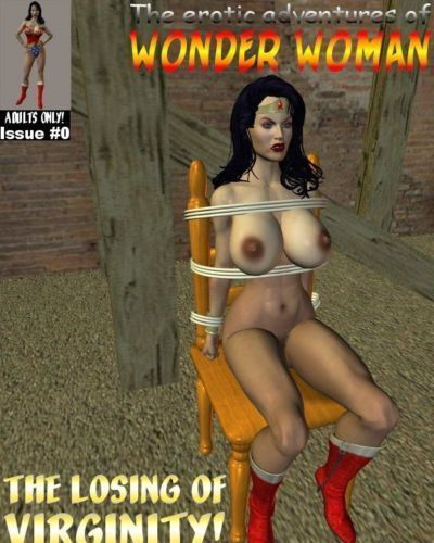 [Cirosikk] The Erotic Adventures of Wonder Woman - The Losing of Virginity! (Wonder Woman)