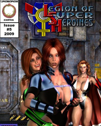 Legion of Super Heroines 05 - Way out of Bounds
