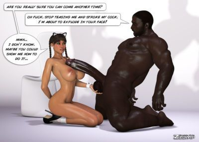 [Zzomp] Maria First Interracial Scene [Complete] - part 3