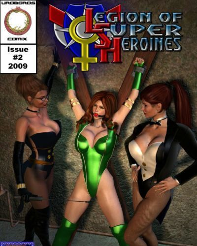 Legion of super heroines 02 - Familiar Positions