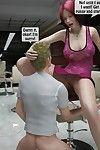 Two boys rape a woman at haircut- 3DStories - part 2