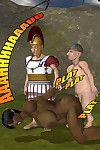 3D The Half Orc vs the Horny Little Hobbits - part 2