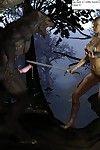 Werewolf orgy