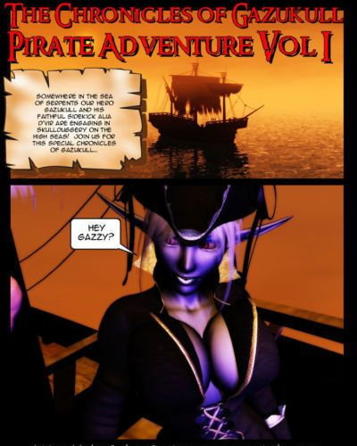 Chronicles of Gazukull - Pirate Adventure Vol. 1