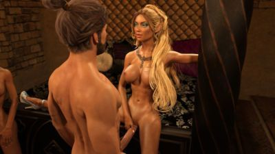 Gator3D – Fairy Tales – Elven Schoolgirls - part 6
