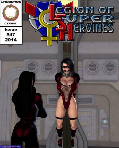 [Uroboros] Legion Of Superheroines 47 - 57