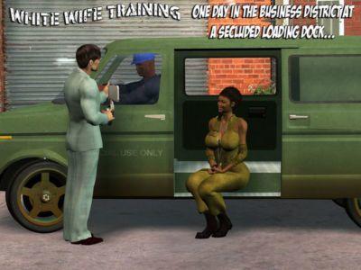 الأبيض وقحة التدريب