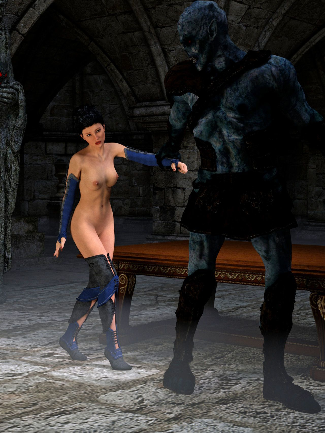 Hibbli3D – Sorceress Lori Beyond Death ( story + pics ) - part 5