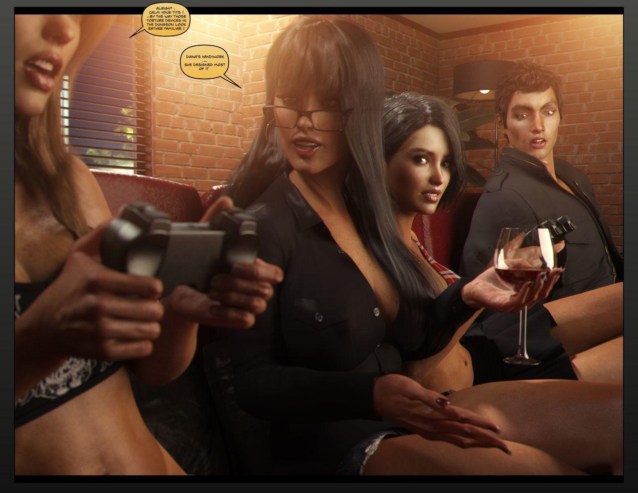 Carey Carter: Videogames night (WIP) - part 2