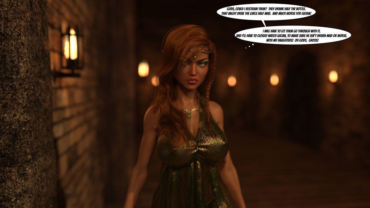 Gator3D – Fairy Tales – Elven Schoolgirls - part 3