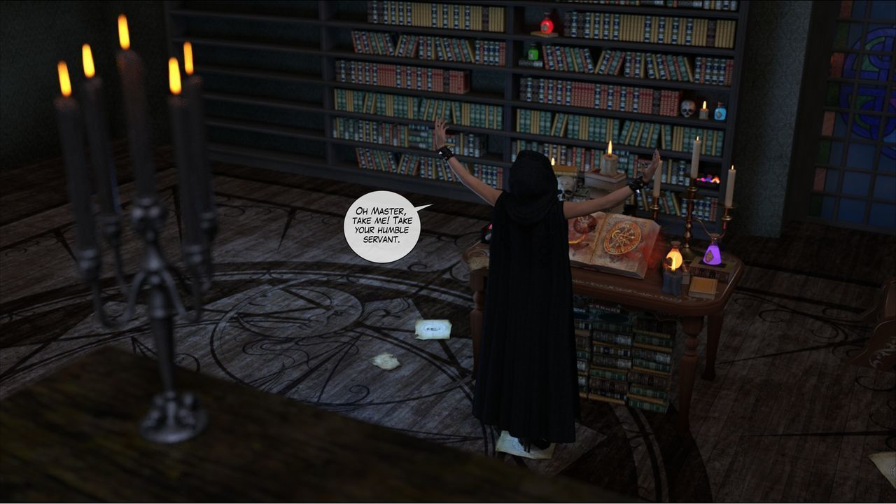 [Shinra-kun] Harriet Cooper And The Wizard\'s Sacrifice - Spell 3 - part 8