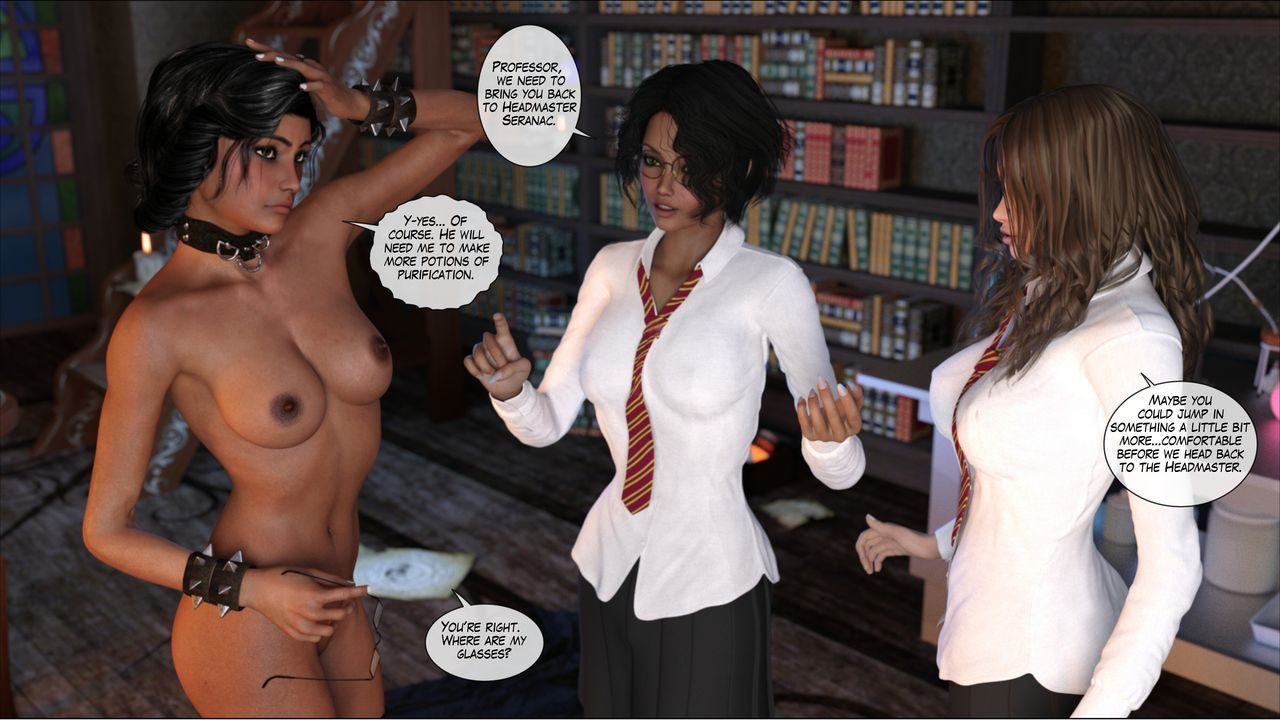 [Shinra-kun] Harriet Cooper And The Wizard\'s Sacrifice - Spell 3 - part 9
