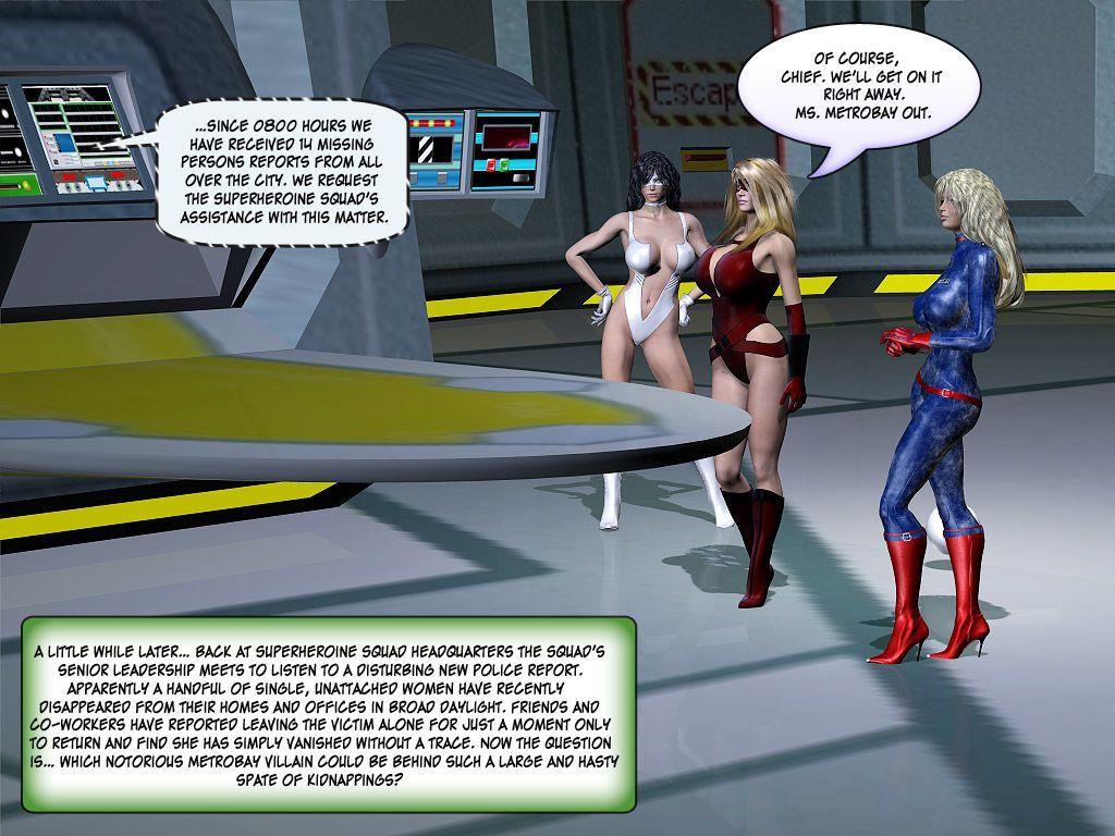 [Finister Foul] Superheroine Squad 1 - 23 - part 4