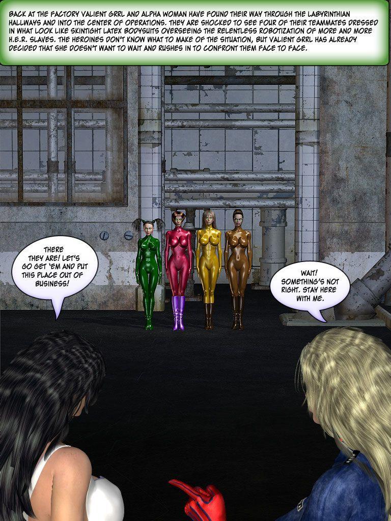 [Finister Foul] Superheroine Squad 1 - 23 - part 12