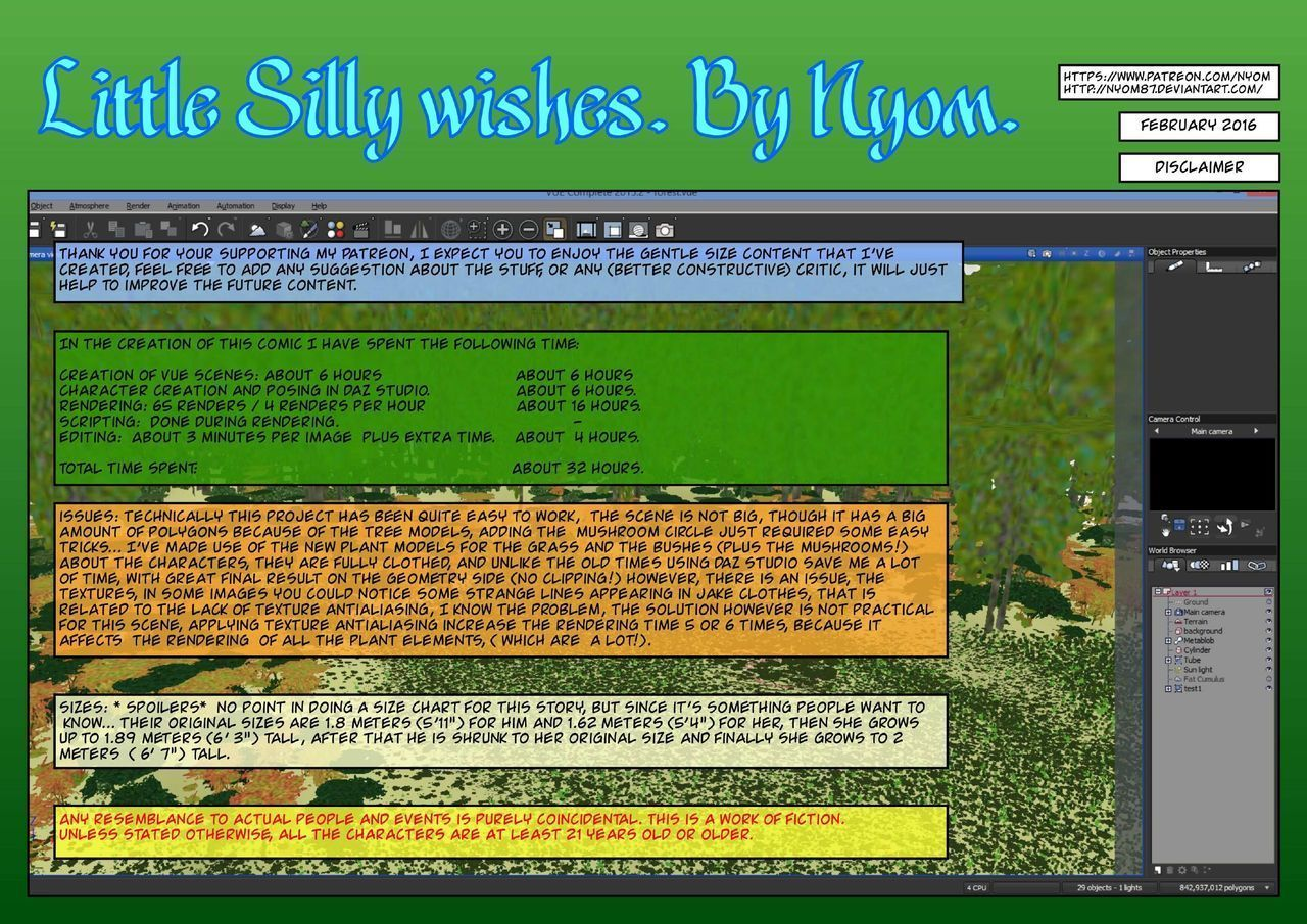 Nyom – Little Silly Wishes