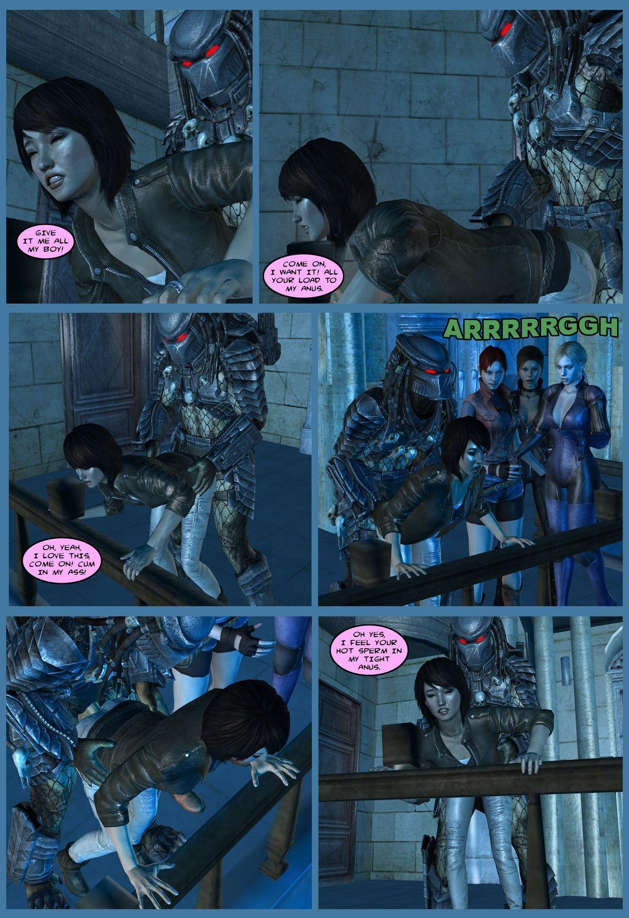 Lady & Cop VS Penetrator 4 (Chapter 1-2) - part 3