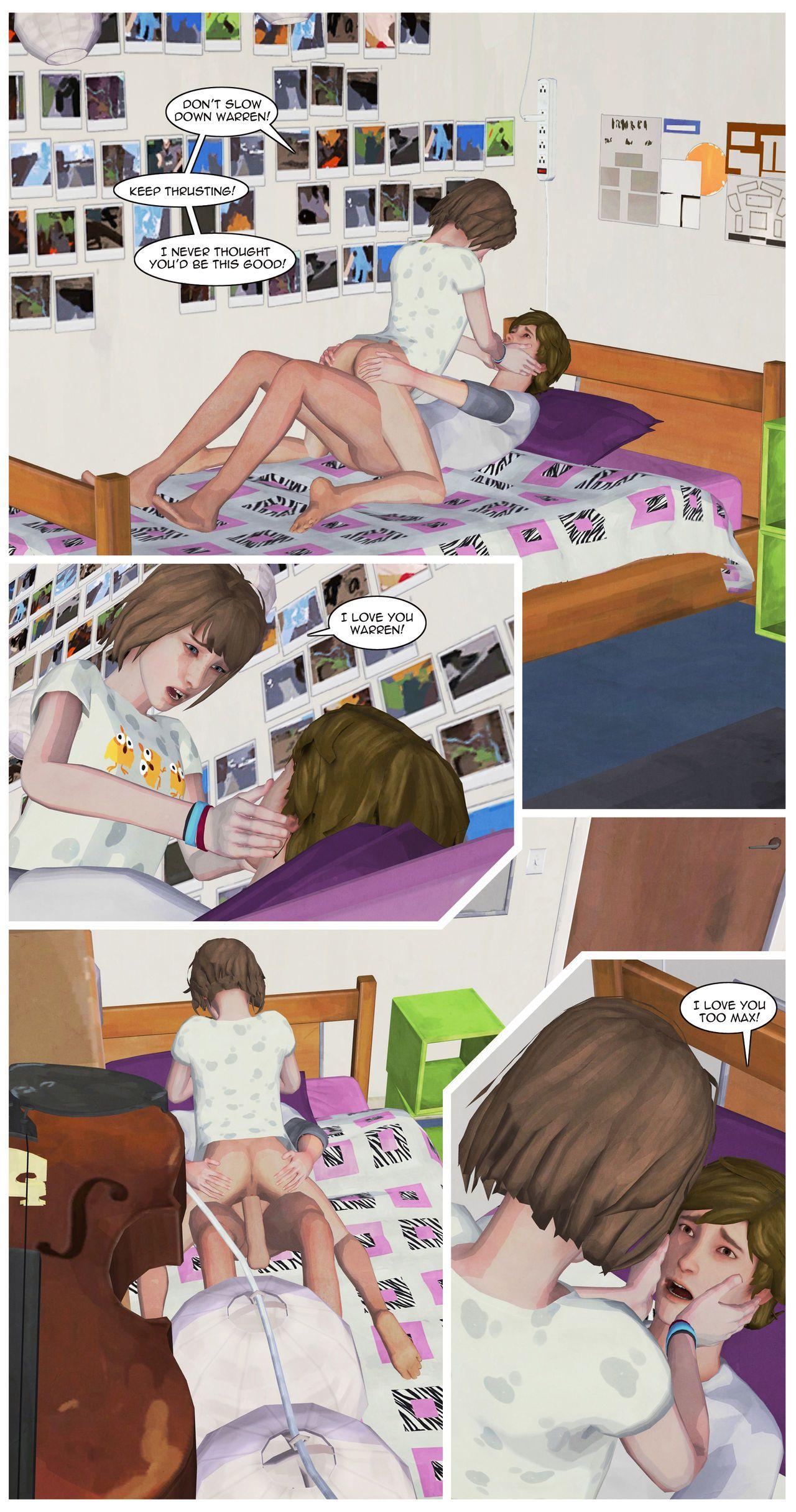 GrahamField Life is Strange comic by DV89