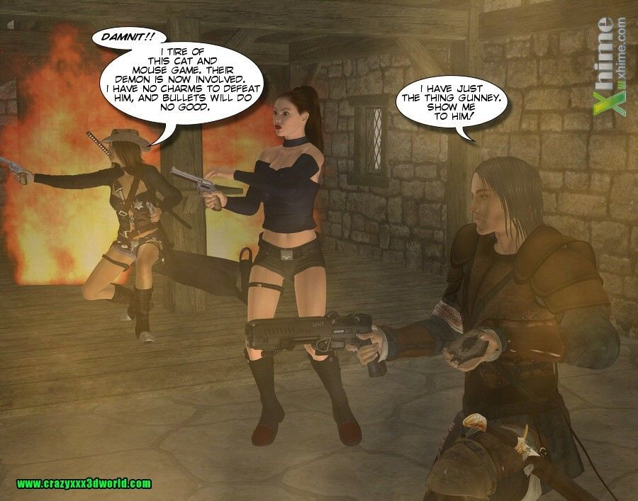 West Sorcerer and Wizards 4 - part 3