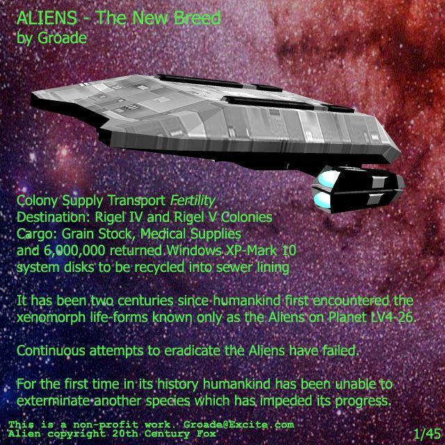 [Groade] Aliens - The New Breed (Aliens)