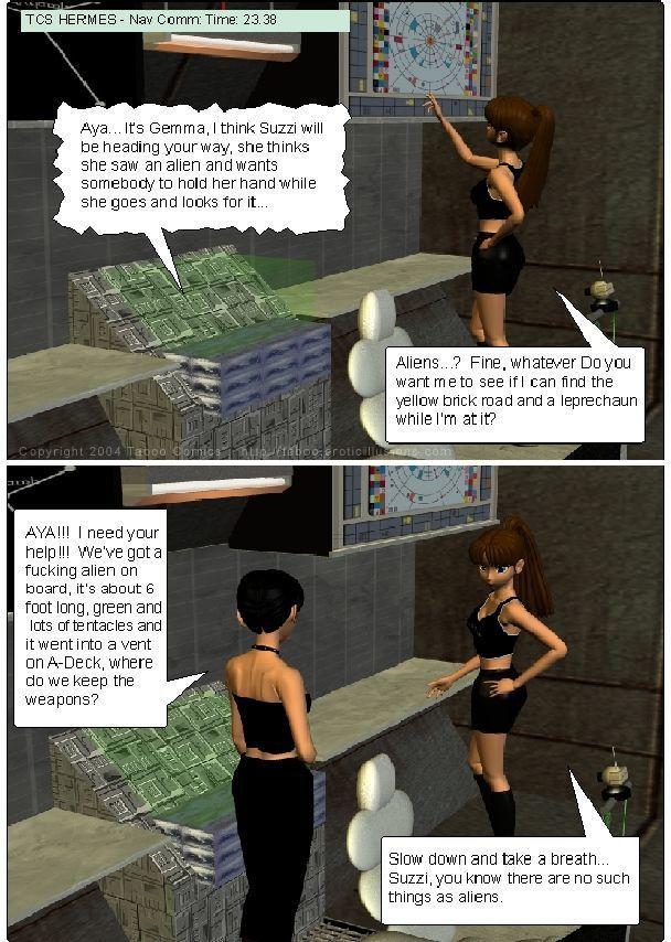 [Taboo Comics (Gonzo)] Darkside Ch. 1-7 - part 3