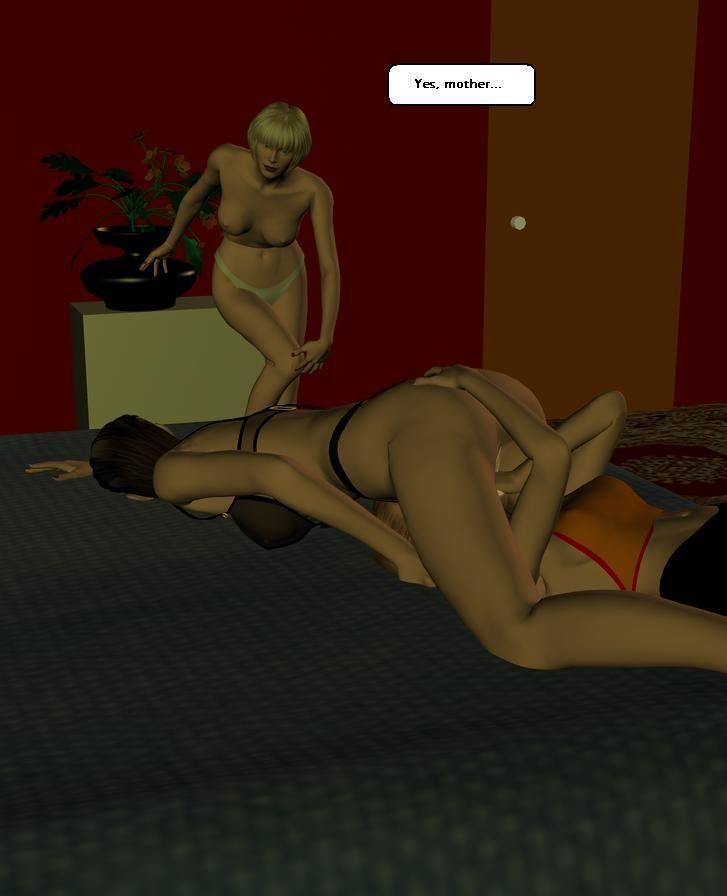 [3D comix] Family Lesbian [English] - part 2