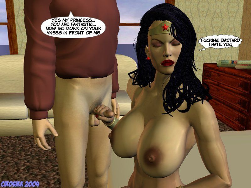 [Cirosikk] The Erotic Adventures of Wonder Woman - The Evil Boy! (Wonder Woman) - part 2
