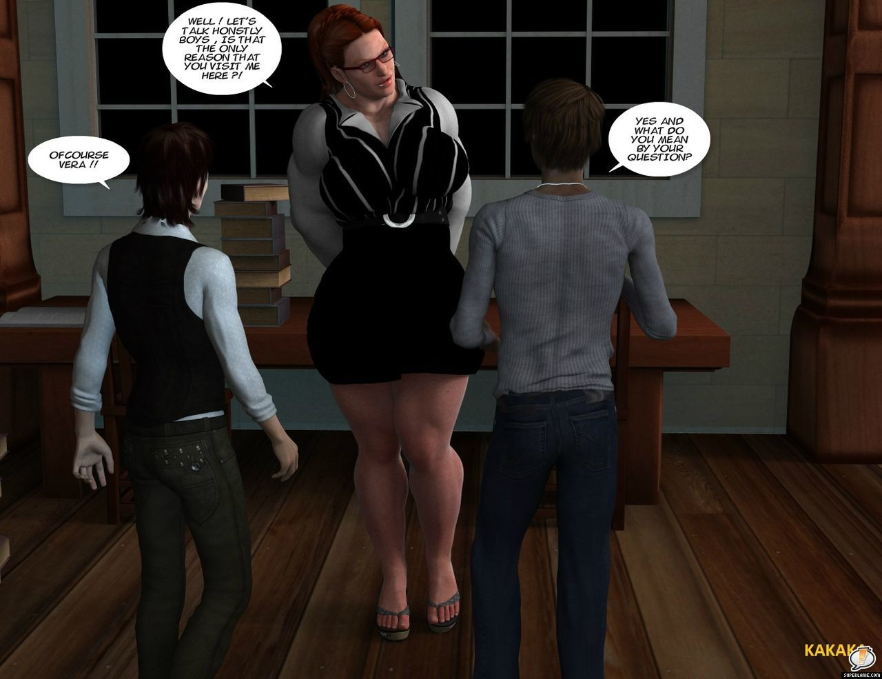 [kakaka] The story of Vera Vincent. - part 2