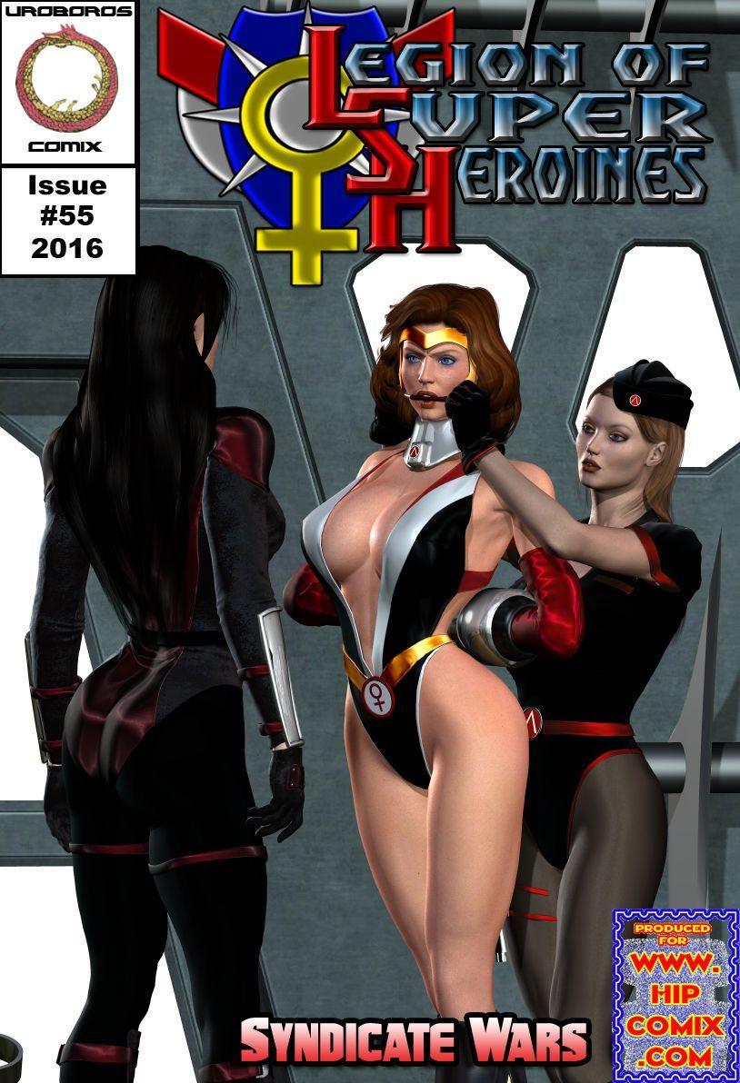 [Uroboros] Legion Of Superheroines 47 - 57 - part 7