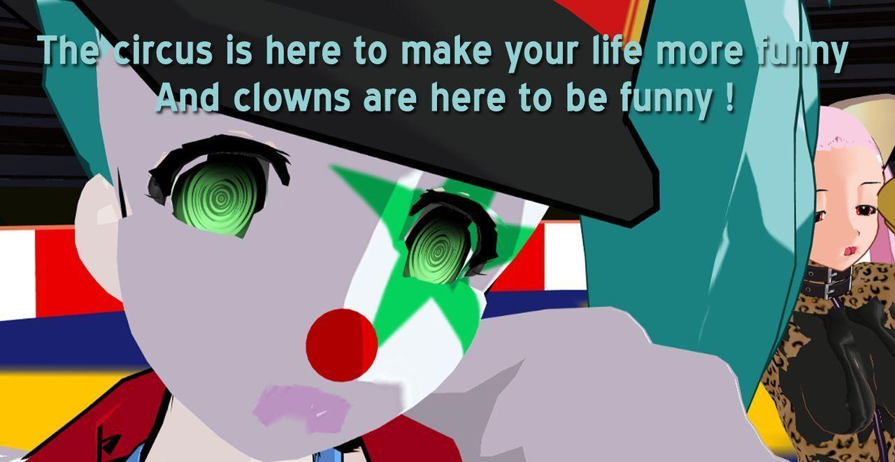 (3DCG) Clown Next Door