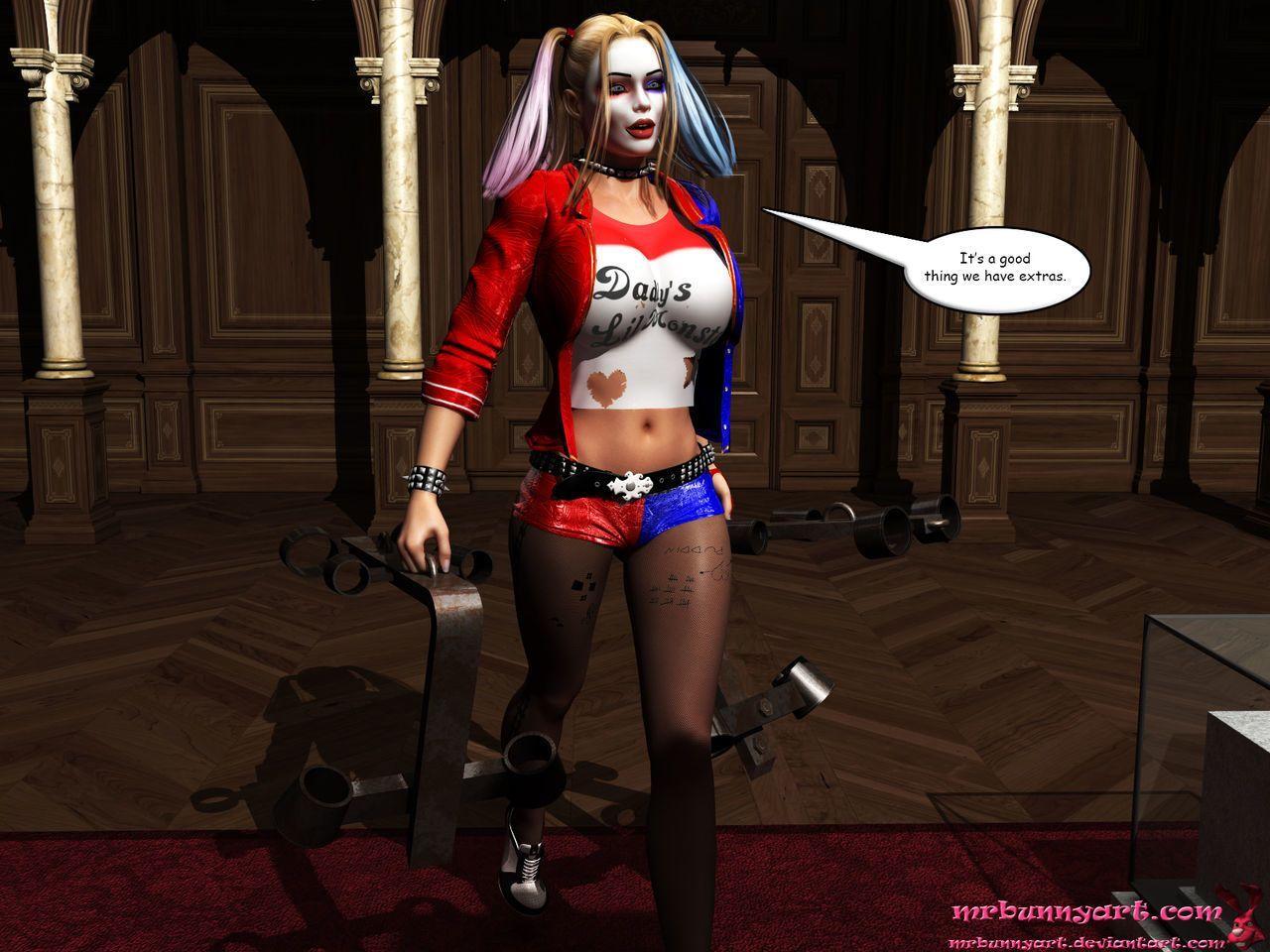 [MrBunnyArt] Cain vs Catwoman - part 2