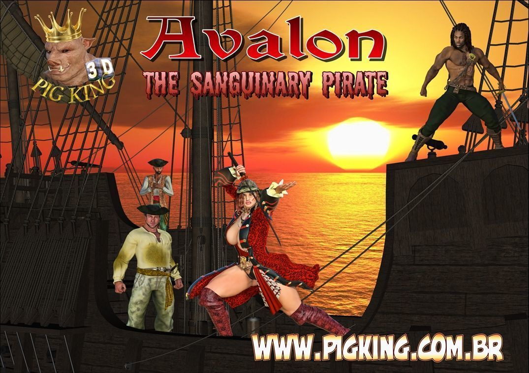 [Pig King] AVALON- THE SANGUINARY PIRATE [English]