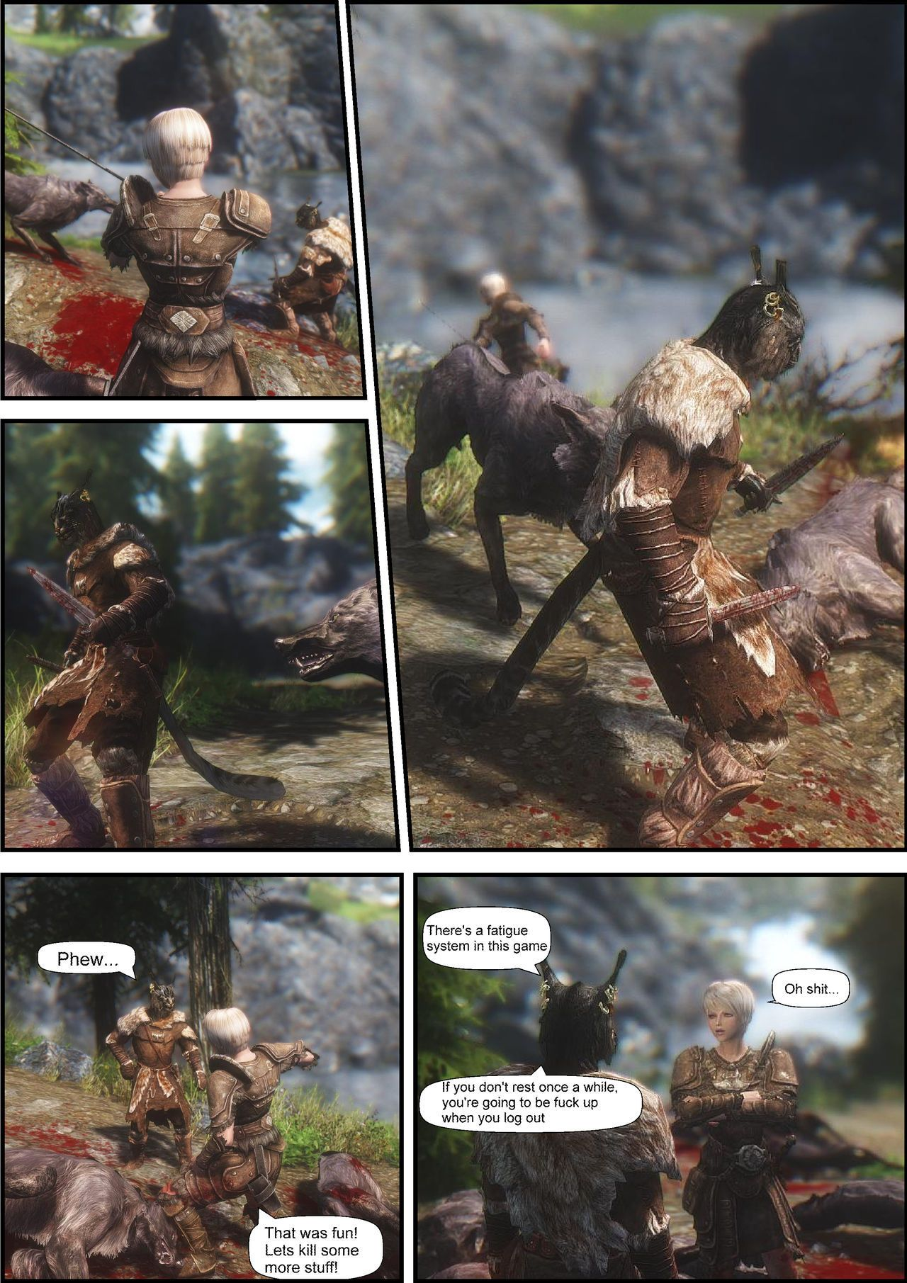 Skyrim of 2074: First time