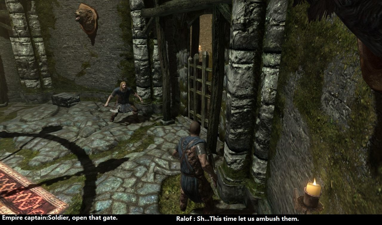 Noah Production - Skyrim - Story of Bate -Chapter 1 Part 1 The catastrophe in Helgon