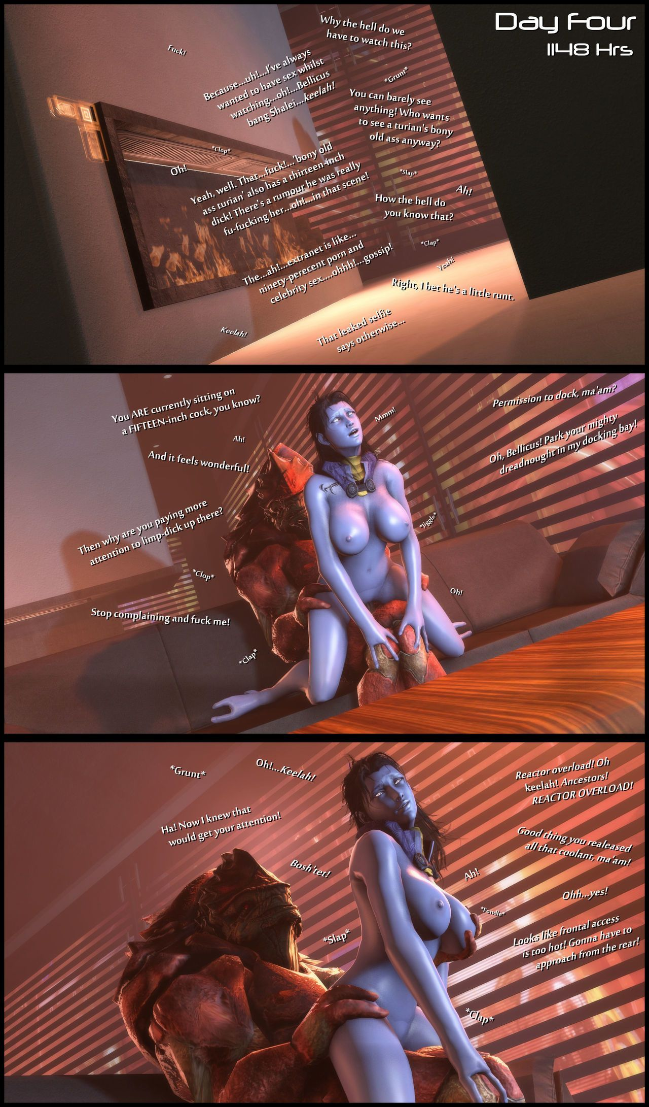 [foab30] Size Queen (Mass Effect) - part 2