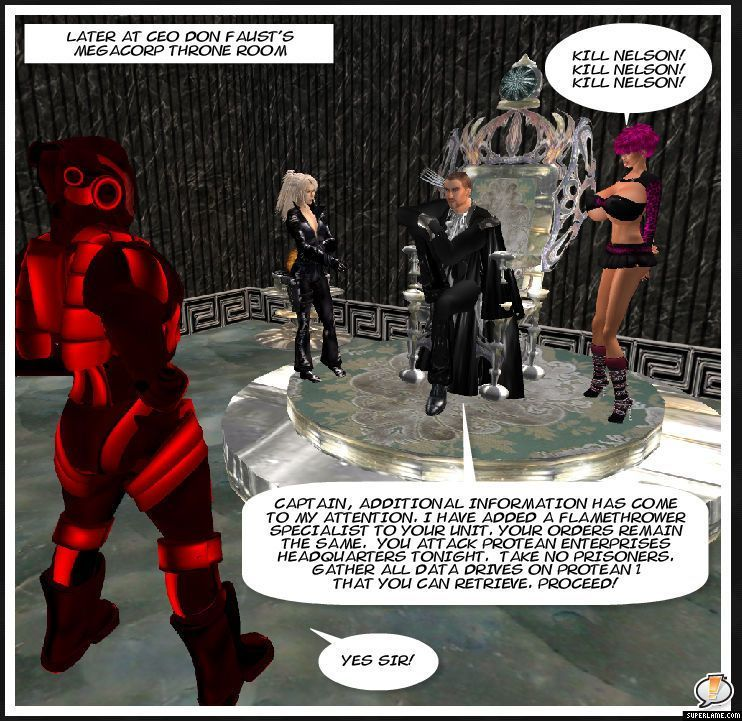 Protean Saga 17: Paradise Lost (Science Fiction from Second Life)