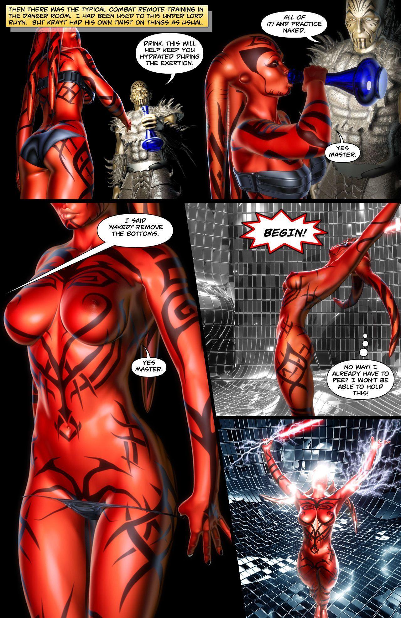 [darthhell] Talon X (Star Wars) - part 2