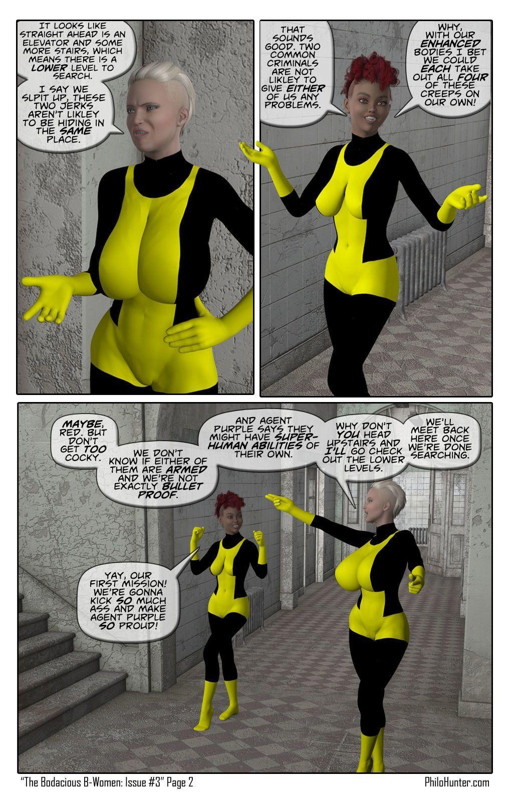 [Philo Hunter] The Bodacious B-Women Issue #3
