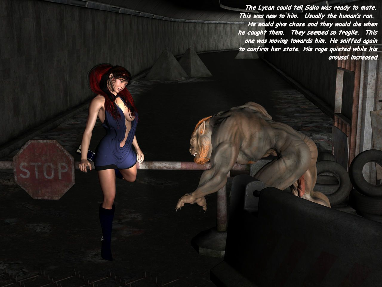 Angelo Michael - Lycan Empires Chapter 2 - No Mans Land