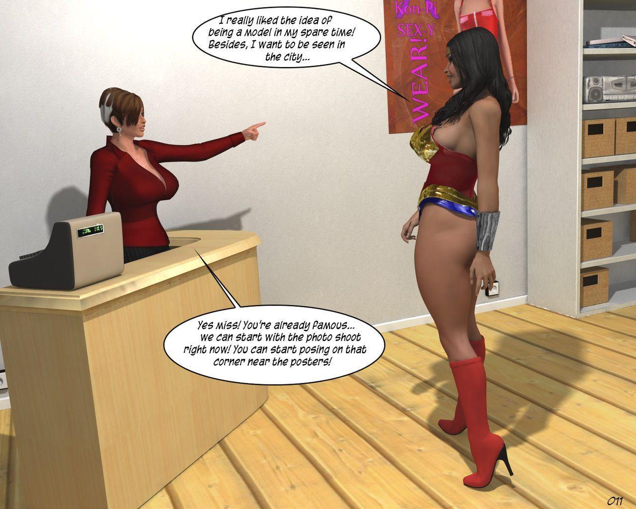 Wonder Woman Adventure - PhotoShrink!