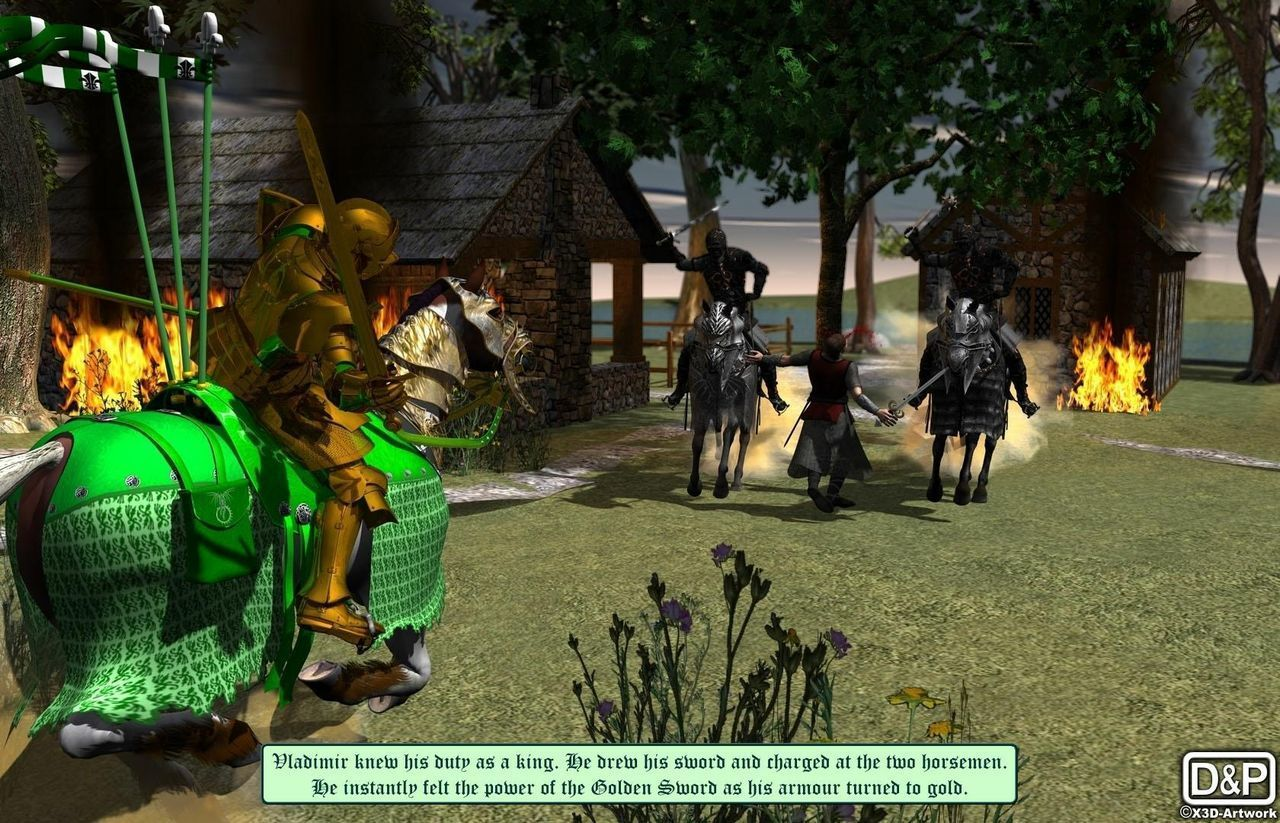 [Dtrieb] The Golden Sword - Prologue - part 4
