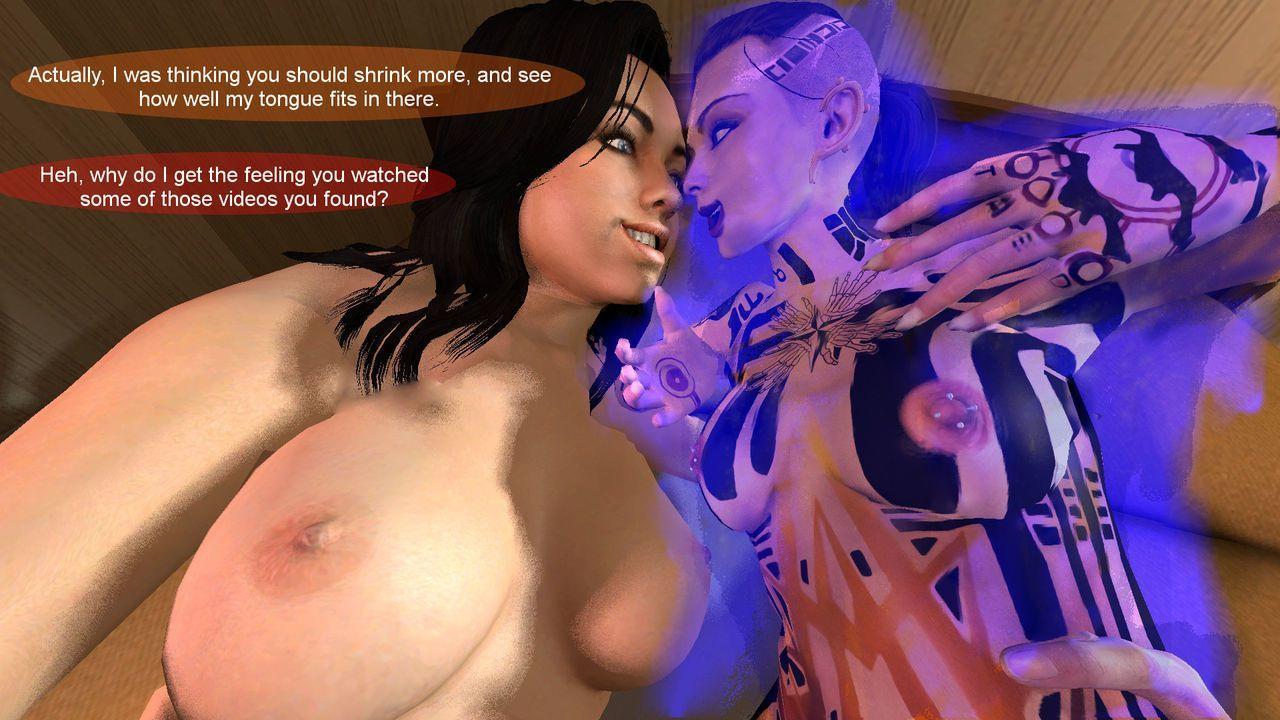 A Small Favor: Mass Effect Shrinking comic - part 2