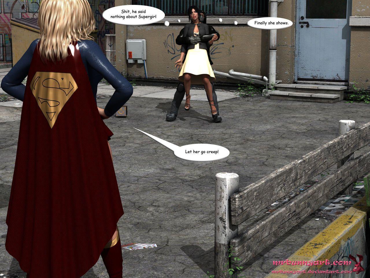 [MrBunnyArt] supergirl vs cain (supergirl) [English]