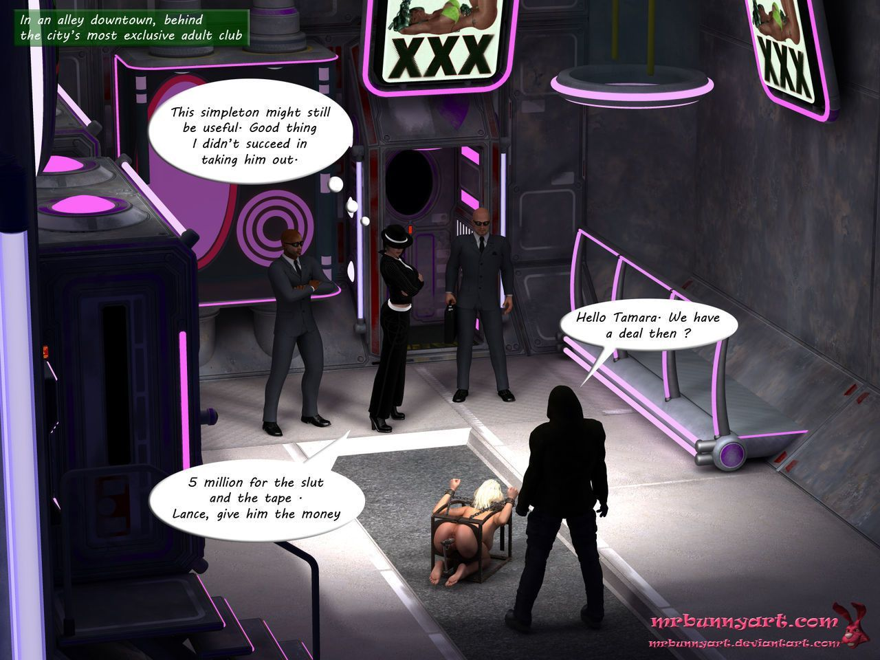 [MrBunnyArt] miss green arrow vs cain (Green Arrow) [English] - part 2