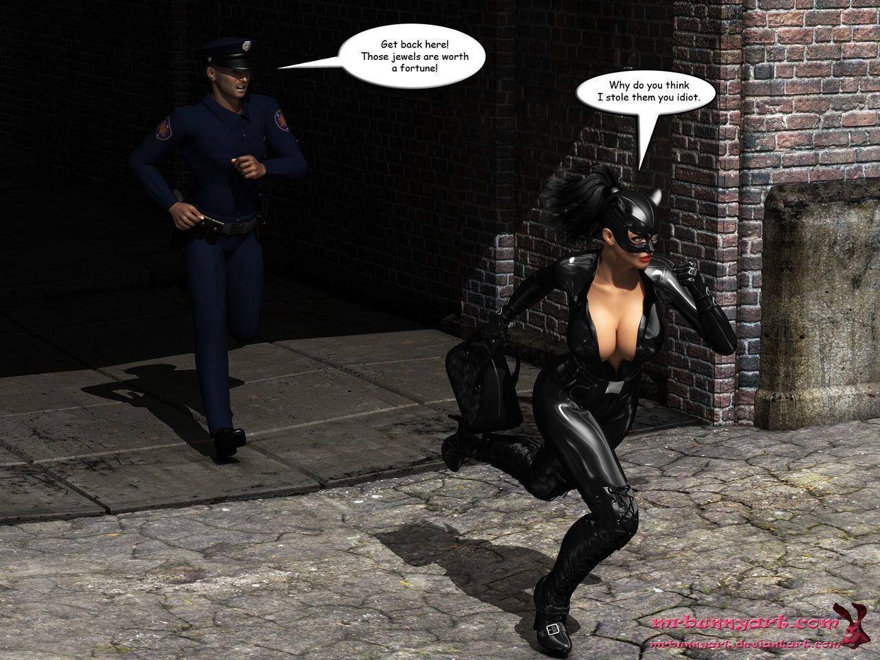 [MrBunnyArt] Batgirl vs Cain (Batman) [English]